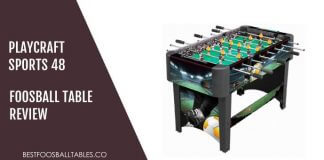Playcraft Sport Foosball Table Review