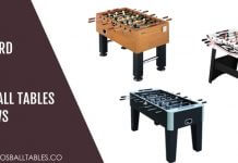 Best Harvard Foosball Tables Reviews