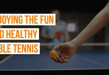 Enjoying the Fun and Healthy Table Tennis