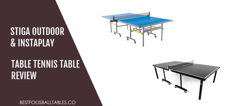 Attirant Stiga Outdoor U0026 InstaPlay Table Tennis Table Review   Best Foosball Tables
