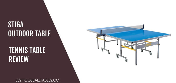 Stiga Outdoor Table Tennis Table