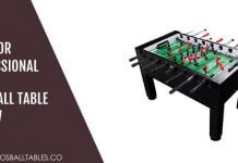 Warrior Professional Foosball Table Review