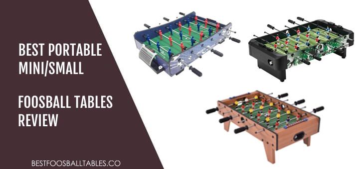 Best Mini Small Foosball Tables Reviews