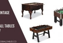 Best Vintage Foosball Tables Reviews