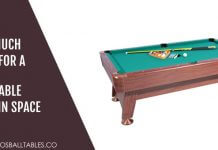 How Much Room for a Pool Table to fit