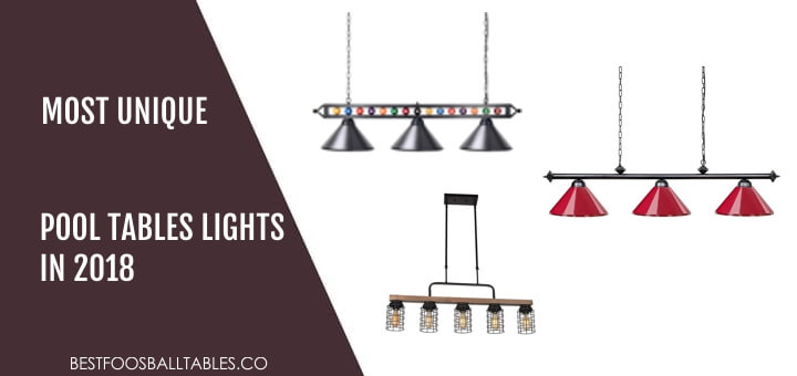 Most Unique Pool Tables Lights